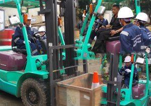 Sertifikasi K3 Forklift Transafe Indonesia