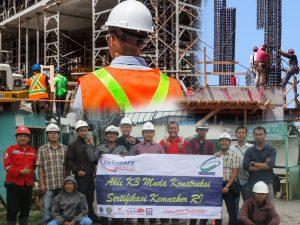 Sertifikasi Ahli K3 Muda Konstruksi Transafe Indonesia