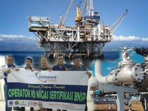 Sertifikasi Operator K3 Migas Transafe Indonesia