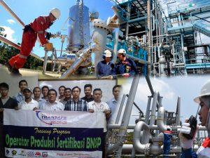 Sertifikasi Operator Produksi Transafe Indonesia
