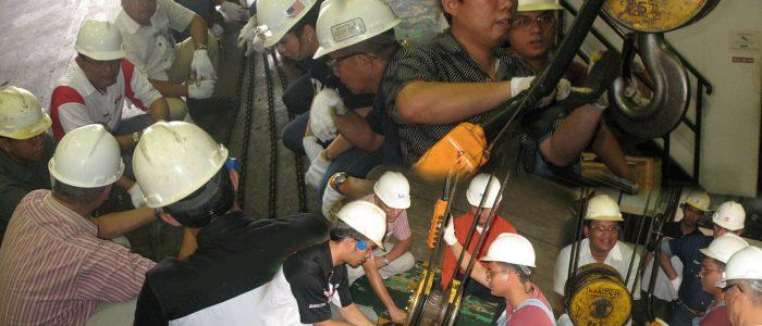 Sertifikasi Rigging Sling Transafe Indonesia
